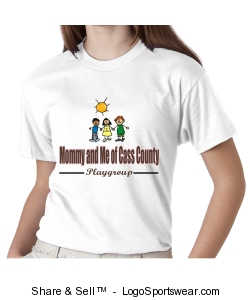 Mommy and Me of Cass County Youth shirt Design Zoom